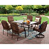 Mainstays Wentworth 7-Piece Patio Dining Set, Seats 6
