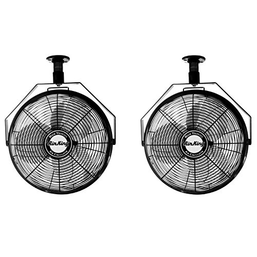Air King 18-Inch 3-Speed Enclosed Ceiling Mount Fan