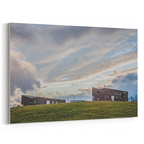 Westlake Art - Evening Cloud - 16x24 Canvas Print Wall Art - Canvas Stretched Gallery Wrap Modern Picture Photography Artwork - Ready to Hang 16x24 Inch