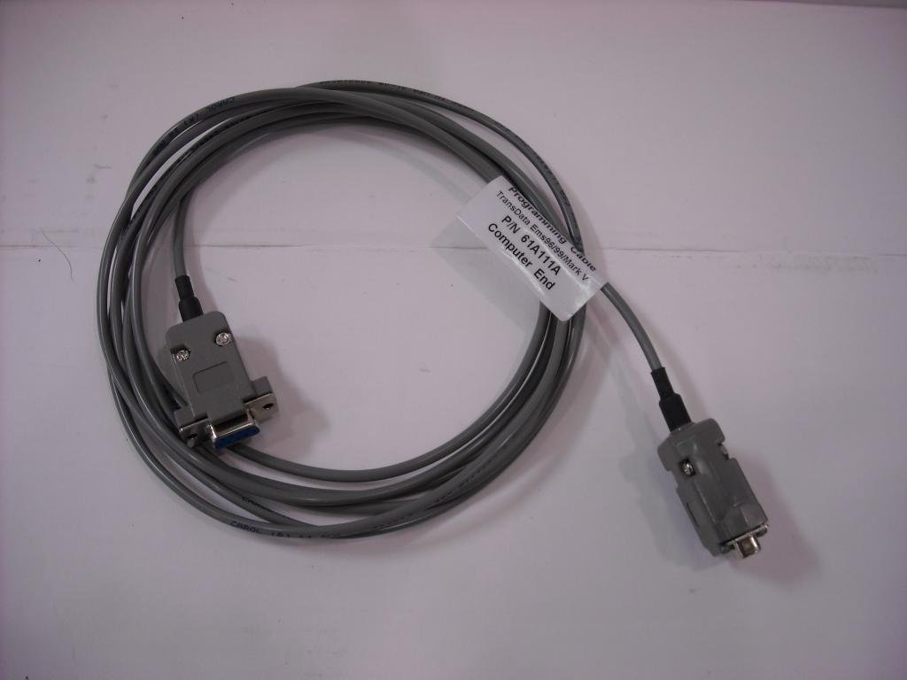 TransData D SUB Watthour Meter Programming Cable