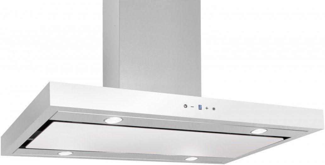akpo WK de 9 FENIKS Glass 50 Campana extractora/pared/50 cm/LED de iluminación: Amazon.es: Grandes electrodomésticos