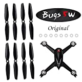 ElementDigital MJX 8Pcs Propeller for Bugs 5W GPS Drone Original Replacement 4Pcs Propeller A (CW), 4Pcs Propeller B (CCW), 8Pcs Silicone Rubber Ring, B5W Quadcopter Accessories Parts (2Set Original)