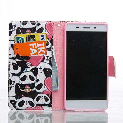 Panda Galaxy Para De Mano Purple Ikasus Hombre Cartera Love 1q6f7Tw8n