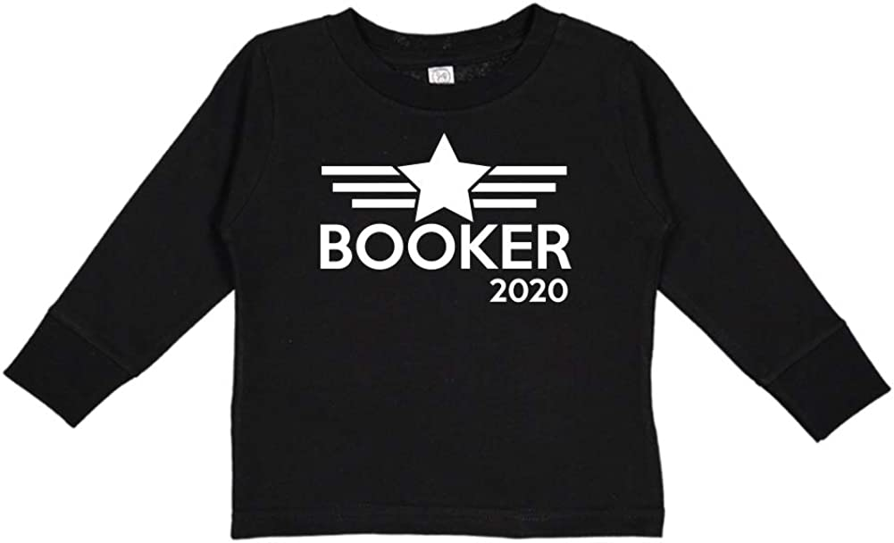 Mashed Clothing Booker 2020 Presidential Election 2020 Toddler//Kids Long Sleeve T-Shirt