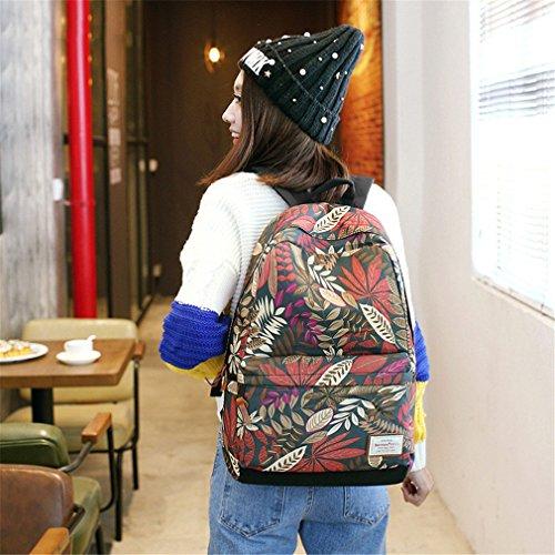 des sac dos pour d'adolescent d'université dos filles d'ordinateur dos femmes à USB Small sacs chargeant sac Haoling à le portable de pour étudiants Red d'école à imprimant des le femelles 4PwSqnO