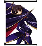 """Code Geass Lelouch Anime Fabric Wall Scroll Poster (16""""x22"""") Inches"""