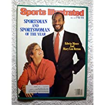 Sportsman & Sportswoman of the Year - Edwin Moses & Mary Lou Retton - Sports Illustrated - December 24, 1984 - Gymnastics, gold medal - SI