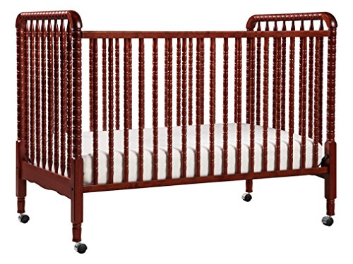 DaVinci Jenny Lind Stationary Crib, Rich Cherry - Oak Baby Cribs