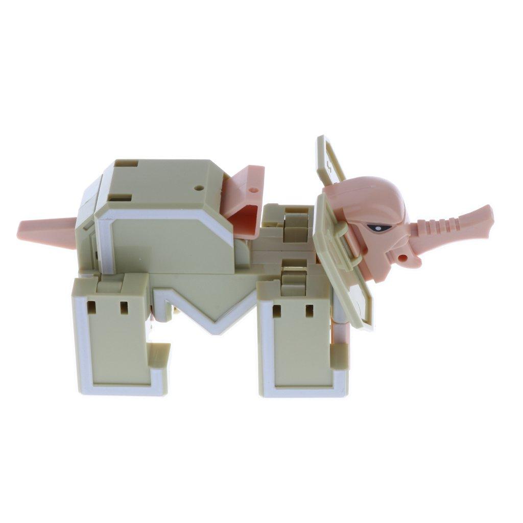 KESOTO Cartas Que Transforman Juguete de Robot Regalo de Cumplea/ños Navidad Fiesta para Ni/ños