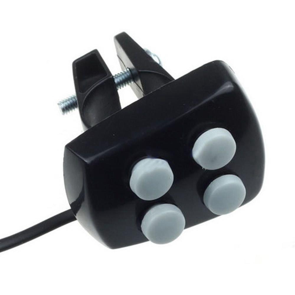 WOVELOT Bicycle Bell 6 LED 4 Tono de bocina Luz LED Sirena Electronica de Bicicletas Campanas para ninos Accesorios de Bicicletas