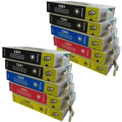CiberDirect - Juego de 10 cartuchos de tinta para uso con ...