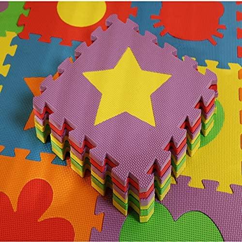 30 JK Home 6PCS Tapis de Sol en Mousse Puzzle Design Cartoon Maison Chambre Jeux B/éb/é 30 1cm