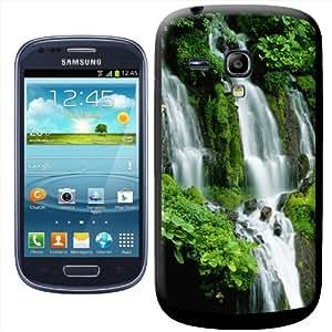 Fancy A Snuggle - Carcasa rígida para Samsung Galaxy S3 Mini i8190, diseño de cascadas