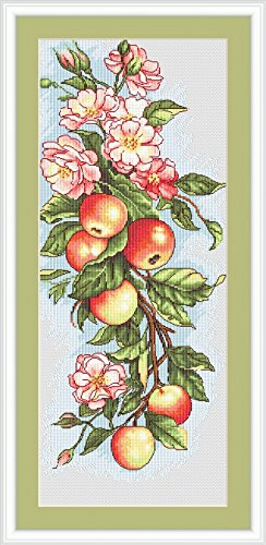 Luca-S Counted Cross Stitch Kit Apples