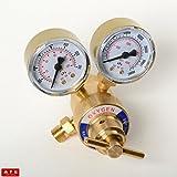 Victor Oxygen Regulator Dual Gauge Cutting Torch Oxygen Regulator Portable Size