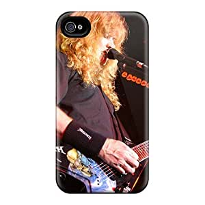 AaronBlanchette Iphone 4/4s High Quality Hard Cell-phone Cases Provide Private Custom High-definition Megadeth Band Skin [eLj11295tCUh]