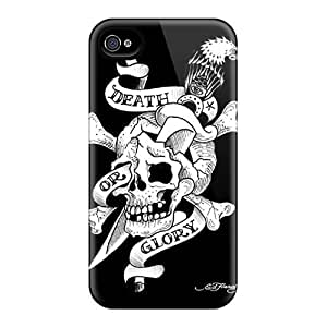 Durable Protector Cases Covers With Ed Hardy Hot Design Ipod Touch 4
