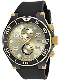 Men's 17815 Pro Diver Two-Tone Stainless Steel Watch with Black Band