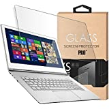 Tempered Glass Screen Protector for 15.6 Inches Laptop, 9H Hardness and Crystal Clear, Compatible with Any 15.6 inch Touch Screen Laptop