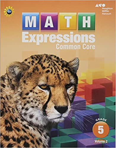Amazoncom Math Expressions Student Activity Book Volume 2