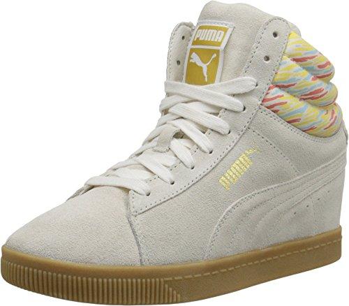 Puma Dames Pc Sleehak Gefluister Wit / Gom Sneaker 9.5 B (m)