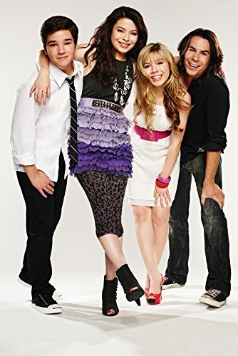 iCarly 24x36 inch Plastic Poster - Waterproof - Anti-Fade -