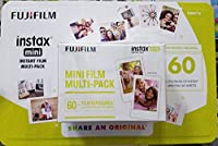 Fujifilm Intax Mini Instant Film Multi-pack 60 Film Exposures