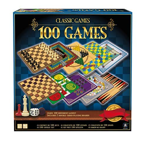 Merchant Ambassador Classic Games Collection - 100 Game Compendium (Game Set Board Multi)