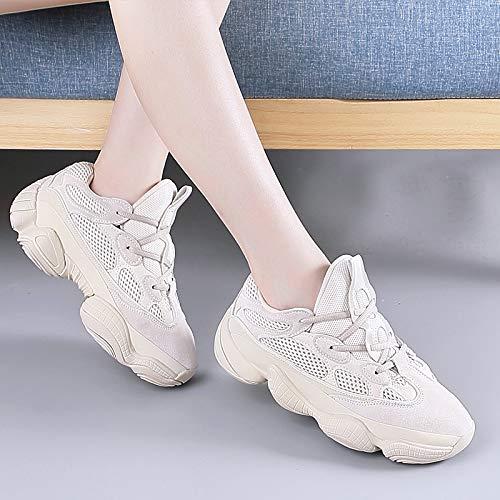 HBDLH HBDLH HBDLH Damenschuhe Daddy Schuhe Absatz 3 cm Hoch Turnschuhe Atmungsaktiv 100 Sätze Schuhe f11196