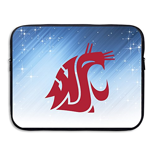 ZOENA Washington State University Cougars Shock-Resistant Notebook Protector Cover Bag 13-15 Inch