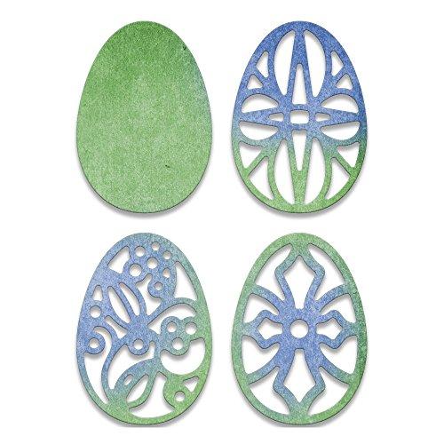 Cheery Lynn Designs CABD76 Easter Eggs (Egg Die Cut)