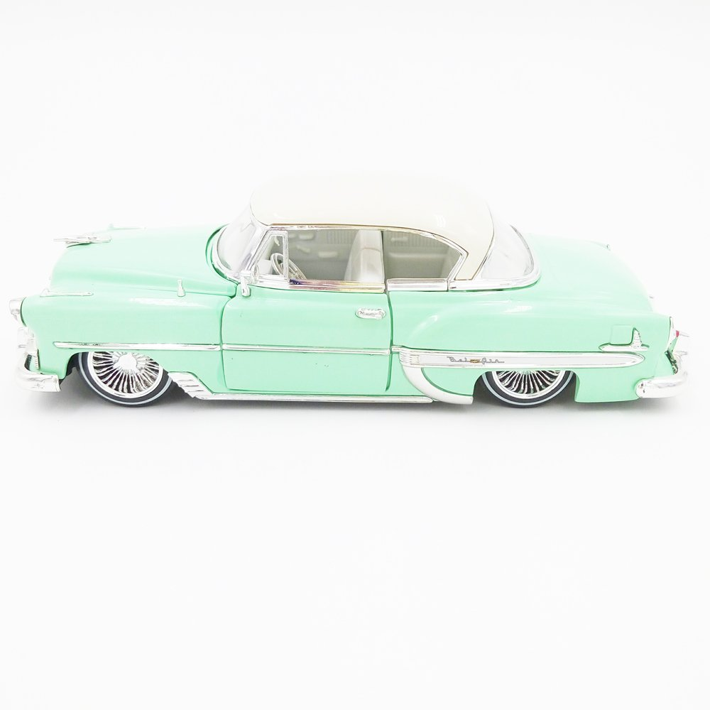 New 124 Jada Toys Display Collection Light Green 1953 1951 Chevrolet Pickup Bel Air Hard Top Street Low Diecast Model Car By Without Retail