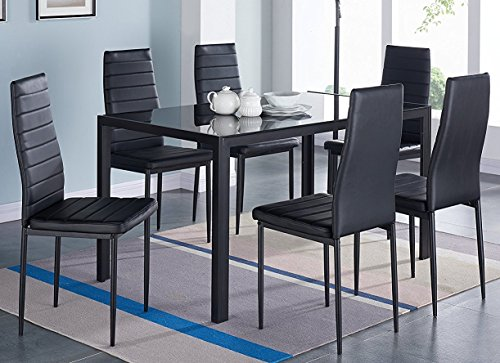 IDS Home 7-Piece Home Dining Dinette Kit - Metal Dinette Set Shopping Results