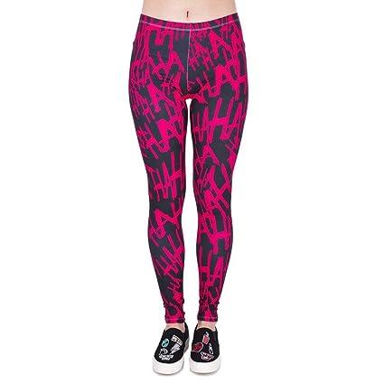 BoBo-88 Pantalones De Yoga Alto De Entrenamiento Las Mujeres ...