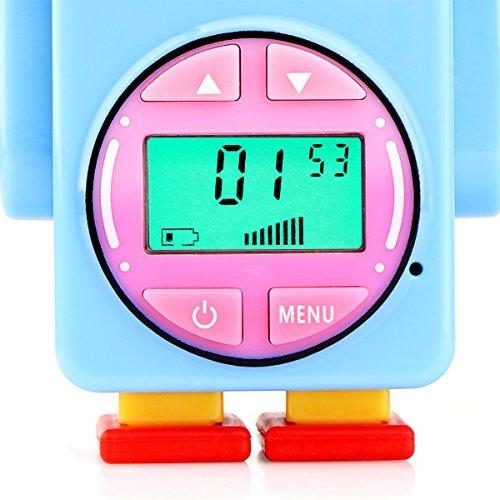 Retevis RT36 Kids Walkie Talkies Rechargeable Battery USB Charging Flashlight Long Range Crystal Sound License Free Walkie Talkies for Kids (Blue,2 Pack) by Retevis (Image #2)