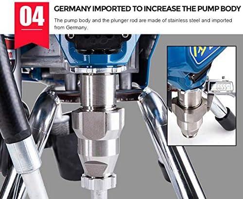 1595 m/áquina de doble pist/ón profesional airless motor el/éctrico m/áquina de pintar m/áquina pulverizadora