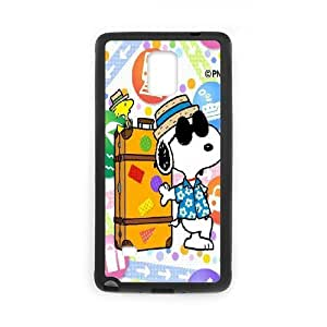 DIY phone case snoopy green cover case For Samsung Galaxy Note 4 N9100 AS2R7748881
