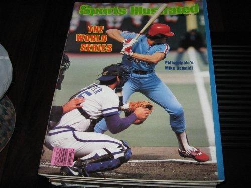 - Sports Illustrated October 27 1980 Mike Schmidt Philadelphia