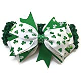 Rush Dance St. Patrick's Day Shamrock Stretch Baby Headband - Irish Pride