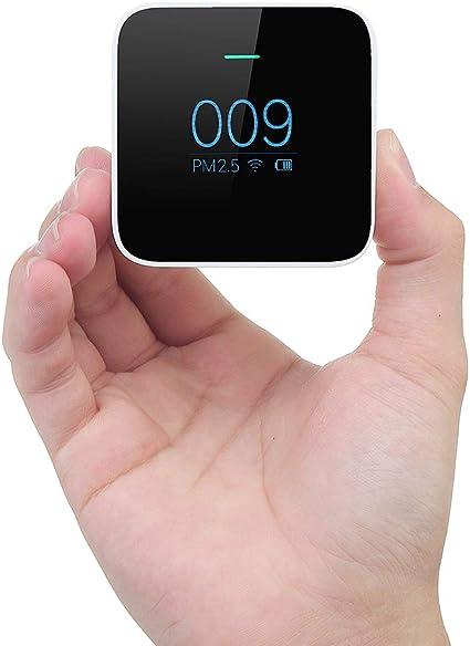 FeLiCia Original Xiaomi Mijia Pm2.5 Detector De Calidad del Aire Tester Monitor OLED Sensor Inteligente Purificador De Aire: Amazon.es: Coche y moto