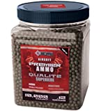 Crosman Elte ASP10K12 AirSoft Premier Double Polished BBs Ammo,0.12g, 10000 Count