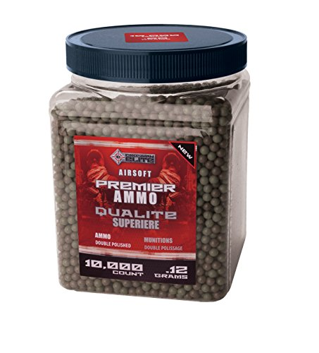 Crosman 10000 Count Airsoft Ammo .12g (Best Airsoft Bbs To Use)