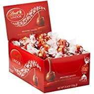 Lindt LINDOR Milk Chocolate Truffles, Kosher, 60 Count Box, 25.4 Ounce