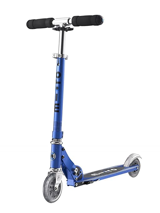 Micro Sprite, Scooter Urbano, Patinete Clásico 2 Ruedas (Azul Zafiro)