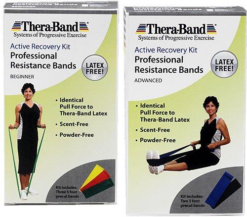 Thera Band Active Recovery Kits Latex Free