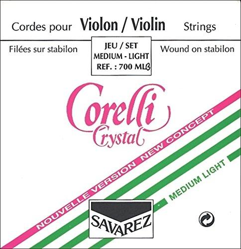 Corelli Violin 3/4 CRYSTAL 3701M e -1 medium