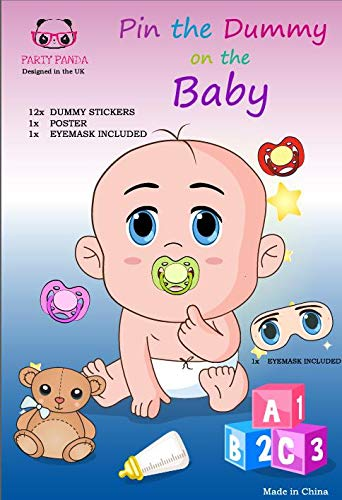 Pin The Dummy On The Baby Game Baby Shower Games Extra Large Baby