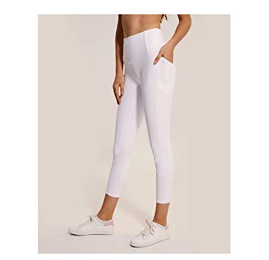 WUXEGHK Pantalones De Yoga Blancos Skin Tight Leggings De ...