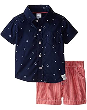 Carter's Baby Boys' 4th of July Short Set (Baby)