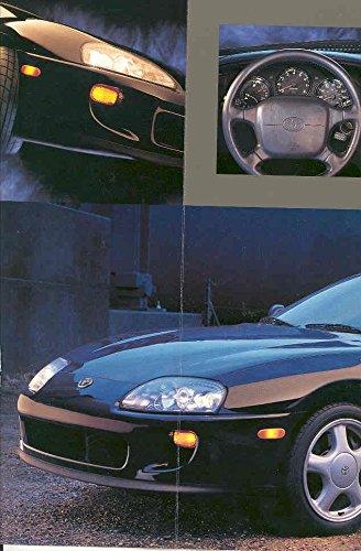 Amazon.com: 1993 Toyota Supra Turbo Sales Brochure: Entertainment Collectibles